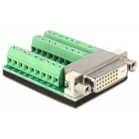 Terminal adapter DVI 27pin Delock 65169