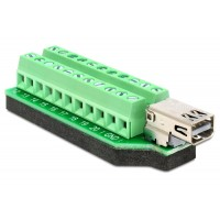 Delock Adapter Mini Displayport female Terminal Block 22pin