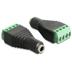 Terminal adapter Stereo 3,5mm 4pin żeński Delock 65457