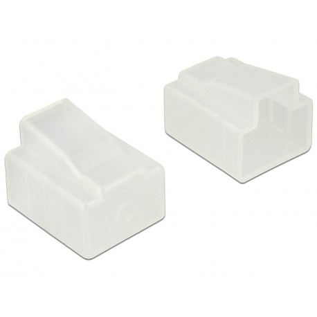 Delock Dust Cover for RJ45 plug transparent