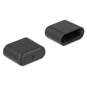 Delock Dust Cover for USB Type-C male black