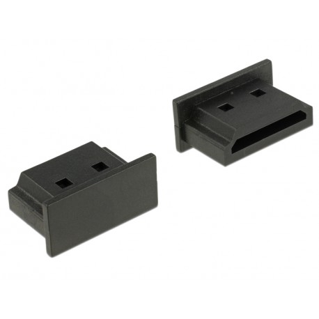 Delock Dust Cover for HDMI A female without grip black